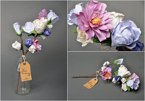 Frances and Francis Paper Flowers