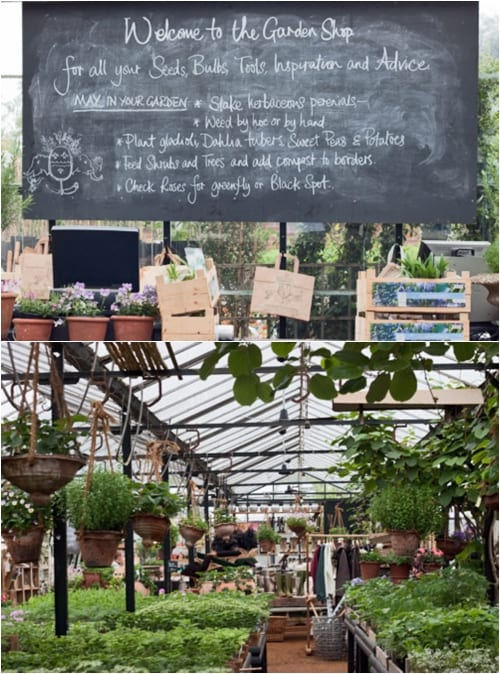 Petersham Nurseries Garden Shop