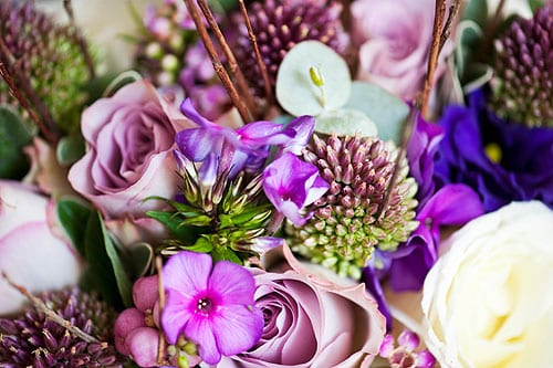 Wedding Wednesday: Inspiration for Wedding Flowers in October – Ryan & Paula