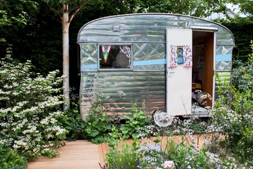 RHS Chelsea Flower Show – Jo Thompson's Show Garden for The Caravan Club : Part 5