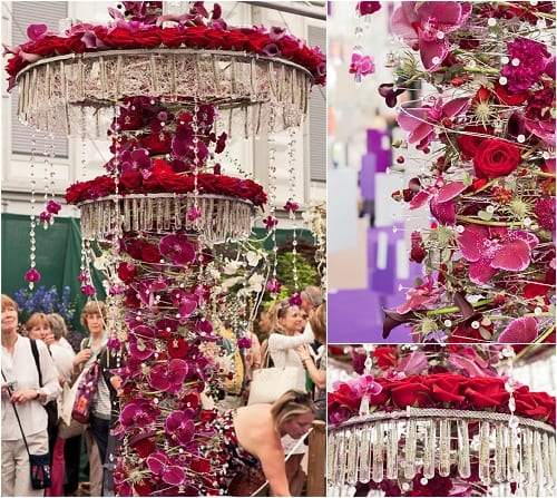 RHS Chelsea Flower Show 2012 – Florist & Young Florist of the Year Flowerona
