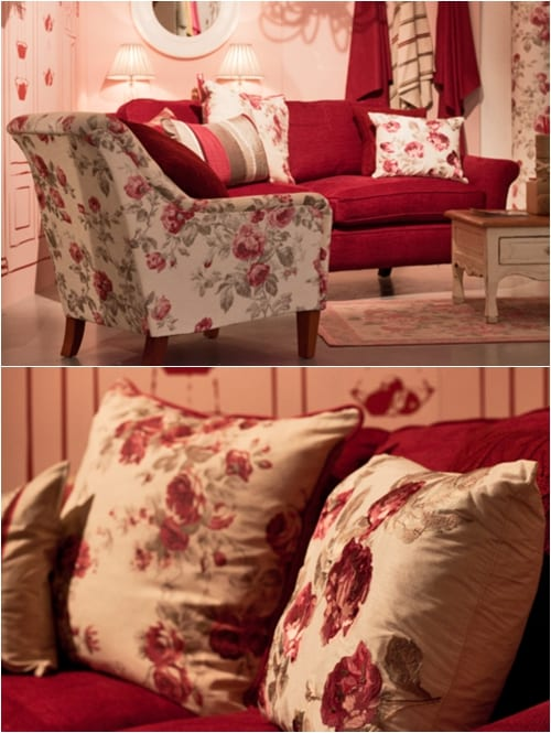 Laura Ashley Autumn Winter 2012 Press Show Flowerona
