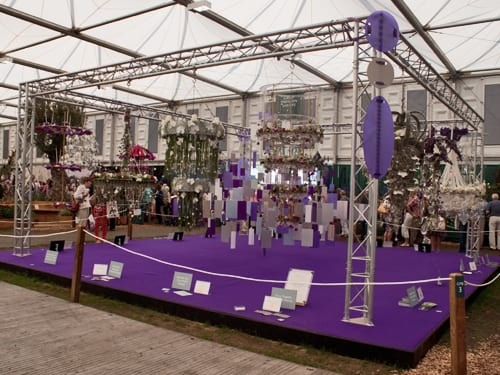 RHS Chelsea Flower Show 2012 – Florist & Young Florist of the Year