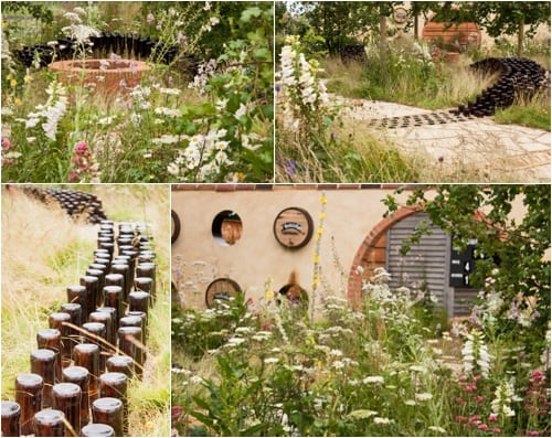 The Badger Beer Garden RHS Hampton 2012 Flowerona