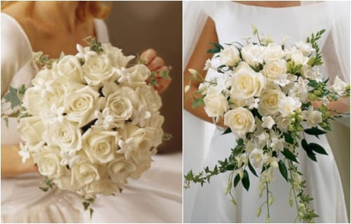 Wedding Flowers via Interflora