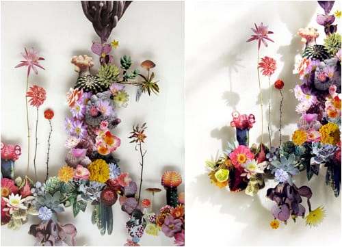 Stunning Flower Constructions by Anne Ten Donkelaar