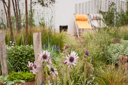 RHS Hampton Court Palace Flower Show 2012 – Summer Garden – Coastal Drift