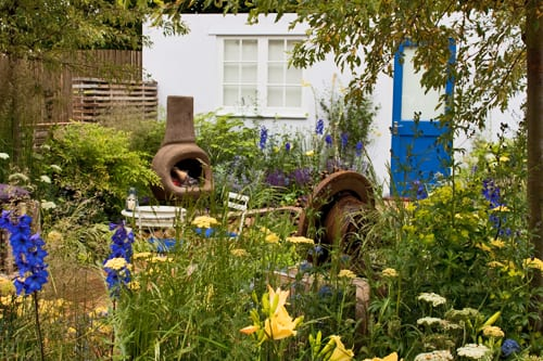 RHS Hampton Court Palace Flower Show 2012 – Nilufer Danis's Low Cost High Impact Garden – Best Low Cost High Impact Garden