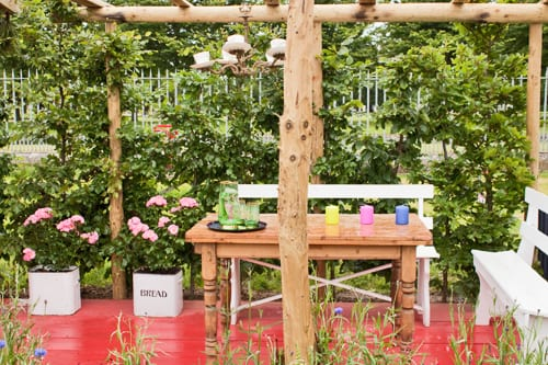 RHS Hampton Court Palace Flower Show 2012 – Summer Garden – Preserving the Community