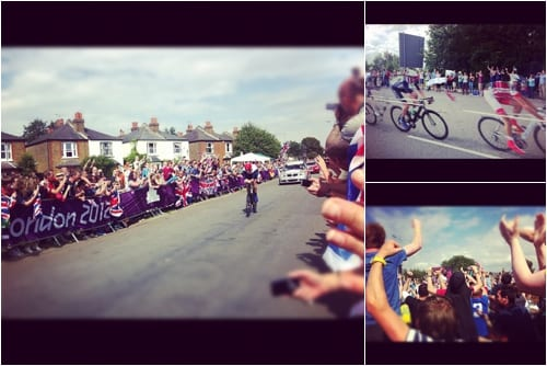 Olympic Road Races Flowerona