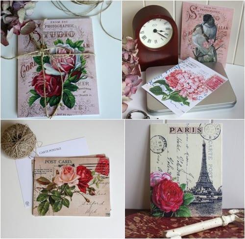Claryce Design - Vintage Postcards