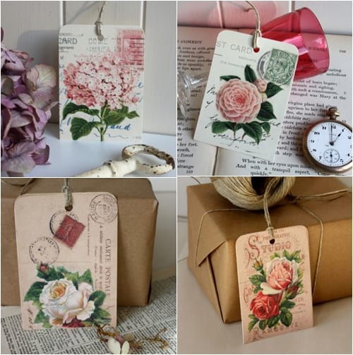 Claryce Design - Vintage Gift Tags
