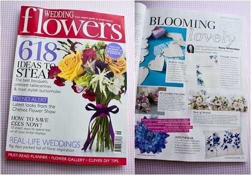 Wedding Flowers Magazine Blooming Lovely Column