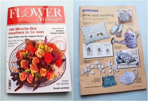 The Flower Arranger Magazine Autumn 2012