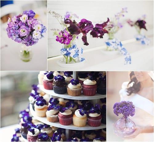 Style Me Pretty - Purple Flowers