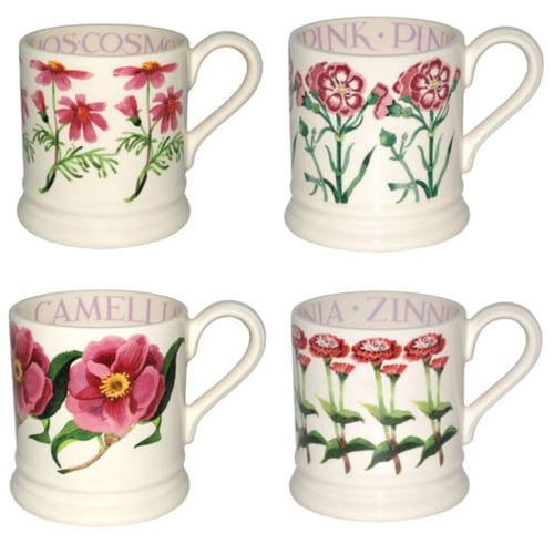 beautiful floral inspired mugs from emma bridgewater