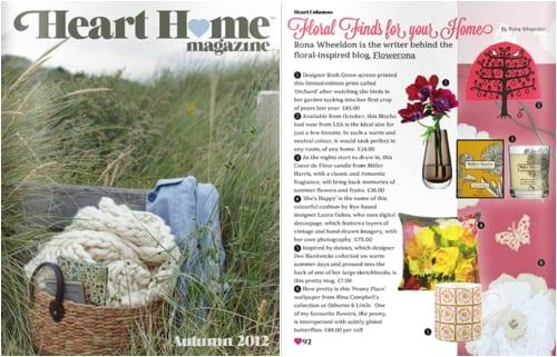 Heart Home Magazine Autumn 2012