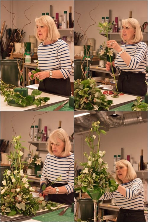 Advanced Four Day Bridal Flowers Course at the Covent Garden Academy of Flowers