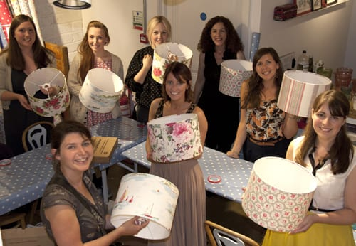 Lampshade Making Event at Cath Kidston in London
