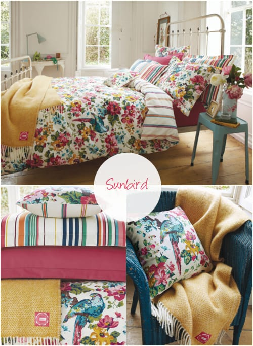 Beautiful Floral Inspired Bed Linen From Joules And Some