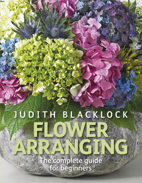 Book review of flower arranging by judith blacklock