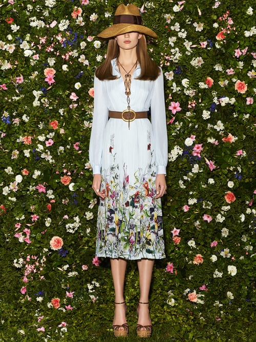 Beautiful floral-inspired dresses from Gucci – Resort Collection 2013