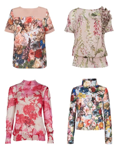 Flowerona's picks from Ted Baker's new autumn 2012 collection