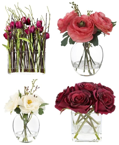 Silk faux or artificial flowers do you feel about them grey rose by jane packer at debenhams mightylinksfo