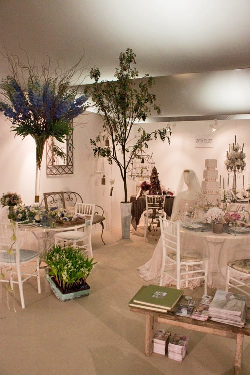 Zita Elze's 'Four Seasons, Four Weddings' Exhibit at the Designer Wedding Show – Spring & Summer