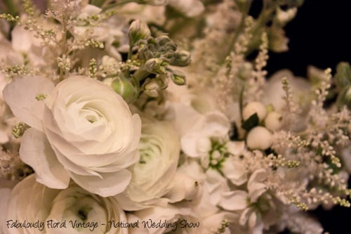 Fabulously Floral Vintage at the National Wedding Show
