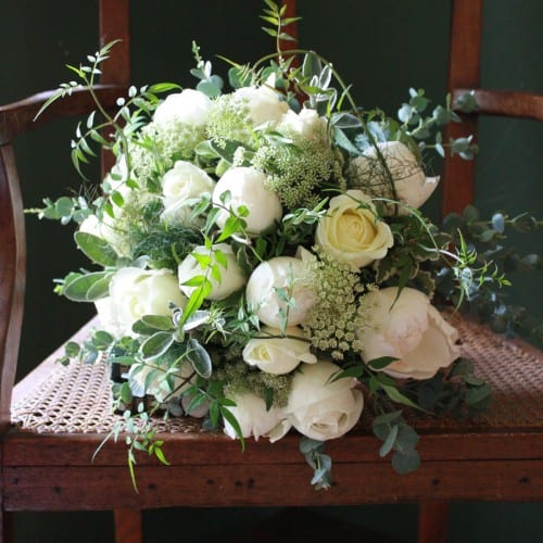 Ivory Bouquet - The Real Flower Company