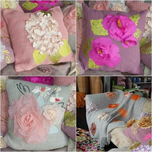 Karen Nicol Wild at Heart Cushions