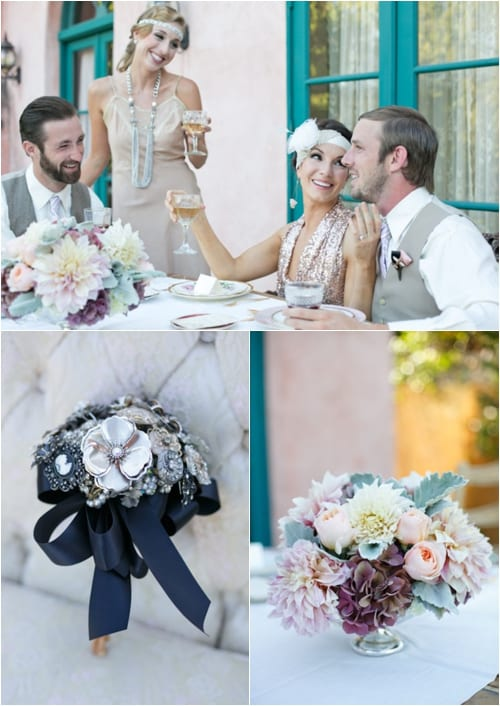 A Great Gatsby Wedding Green Wedding Shoes Ashley Photographer