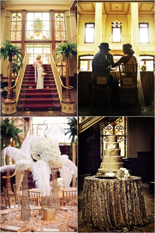 Great Gatsby Wedding Inspiration Belle the Magazine Misty Miotto Photography