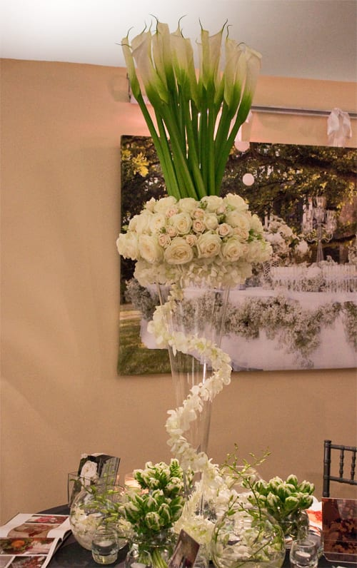 designer wedding flowers