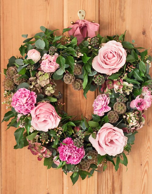 Jay Archer Crafternoon Tea Flowerona - Heart Wreath