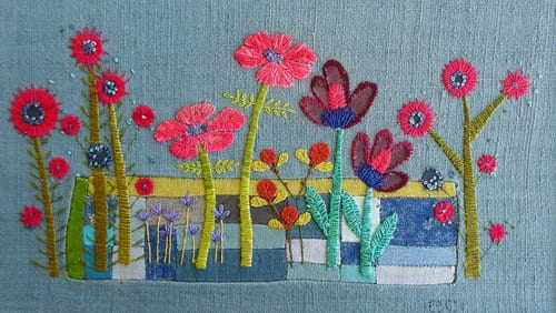 Introducing textile artist, Liz Cooksey…
