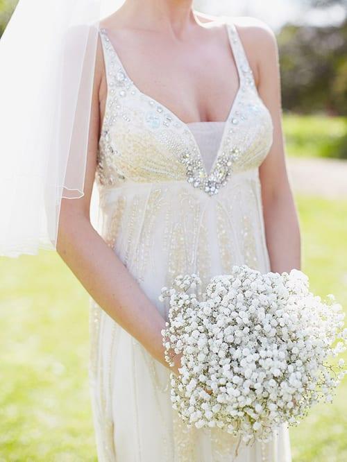 10 Beautiful white wedding bouquets – Part 1