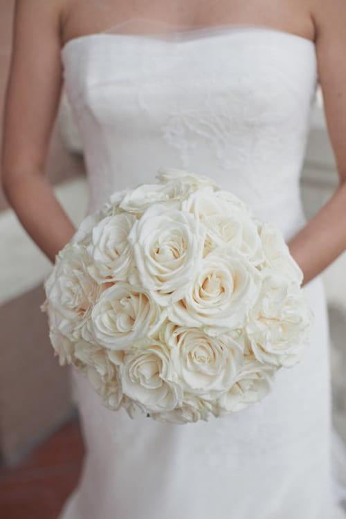 Beautiful White Wedding Bouquets Part