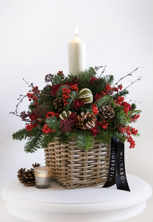 Beautiful new Christmas collection from florist WildAbout