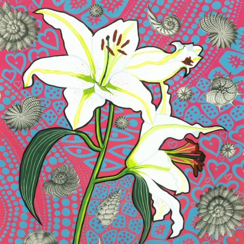 Kate Toms Lily Print