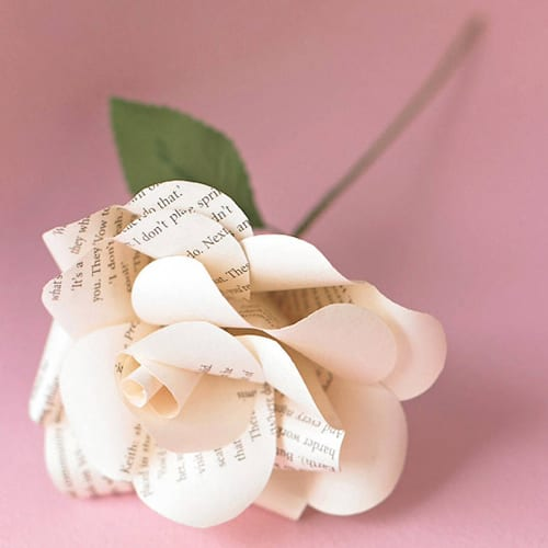Bookish-original_literary-paper-rose
