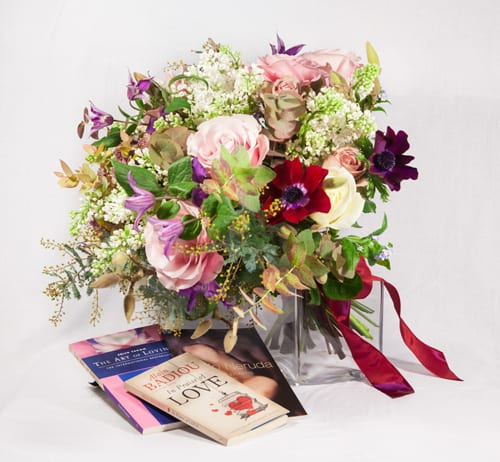 Bouquet-and-book-Rebel-Rebel