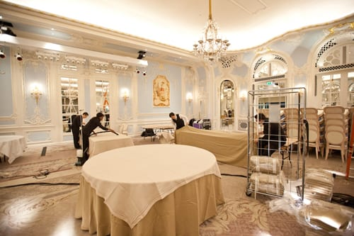 By Appointment Only Design – Wedding at The Savoy – Part 6 : Banqueting Room