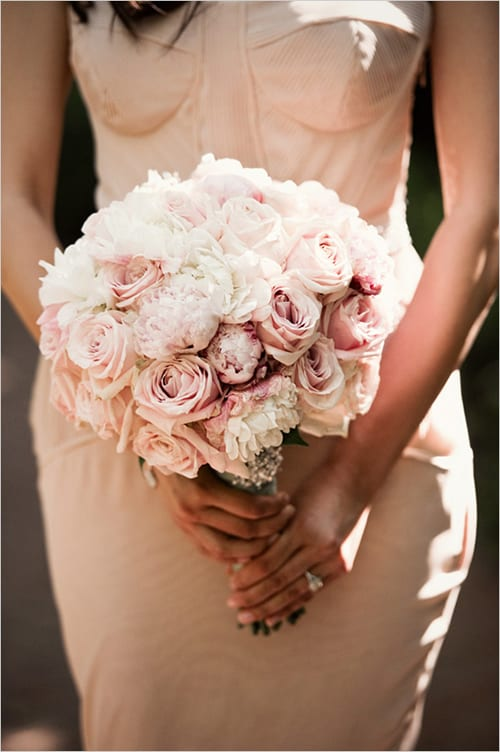 10 Beautiful Blush Wedding Bouquets Part 1