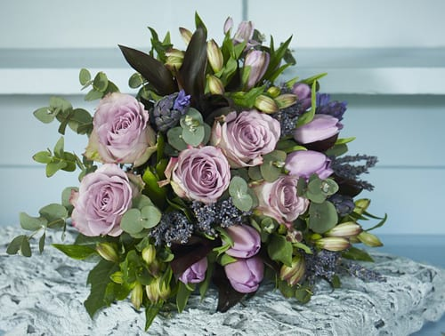 Parma-Violet-Bouquet-Jane-Packer-Delivered