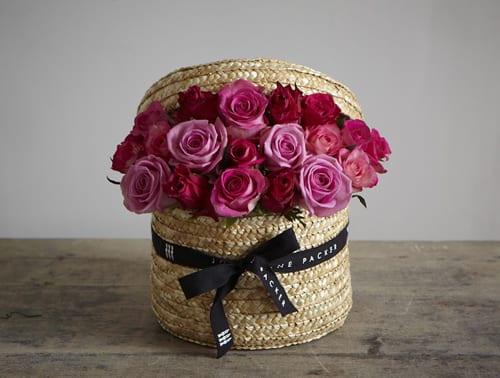 Sweet-Rose-Hatbox-Jane-Packer-Delivered