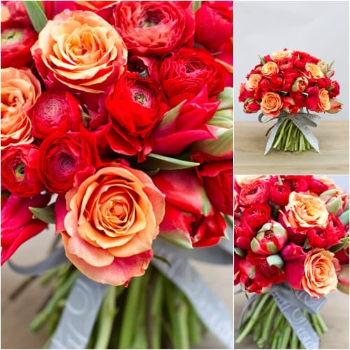 By Appointment Only Design Valentine's Day Bouquet 2013