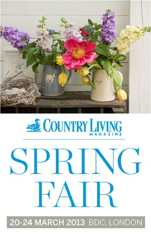 Win tickets to the Country Living Magazine Spring Fair in London, plus Special Reader Ticket Offer