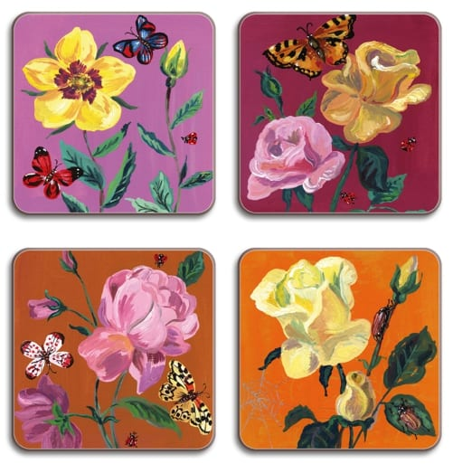 Dovetail Living Nathalie Lete coasters